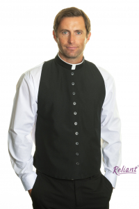 Vest Front with Roman – Tonsure collar