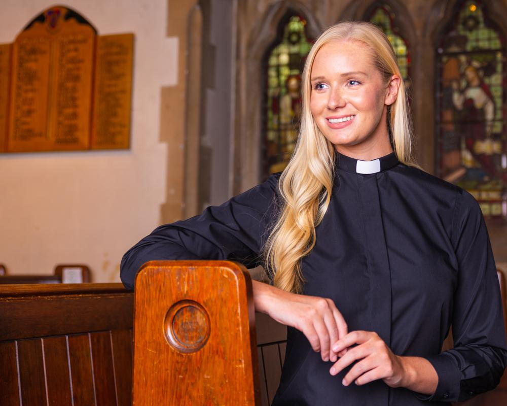 We sell Reliant clergy shirts and accessories online