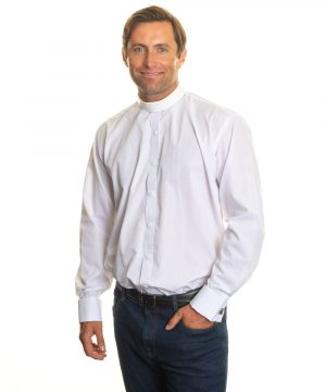 Reliant shirts white long sleeve clerical shirts and accessories