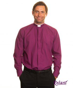 Mens tonsure clerical shirt