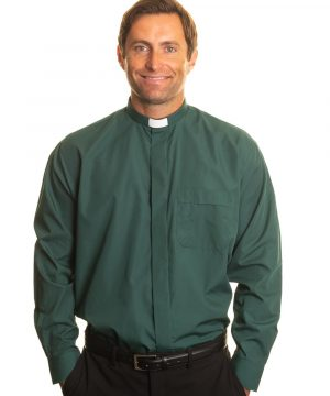 Reliant shirts Green long sleeve shirts for clergy