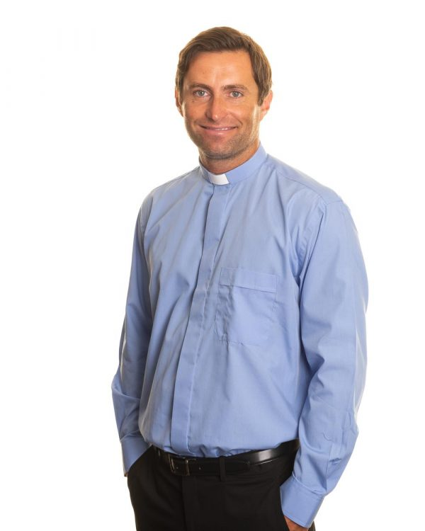 Reliant shirts Blue long sleeve shirts for clergy