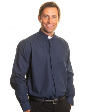 Reliant shirts Navy long sleeve clerical shirts and accessories