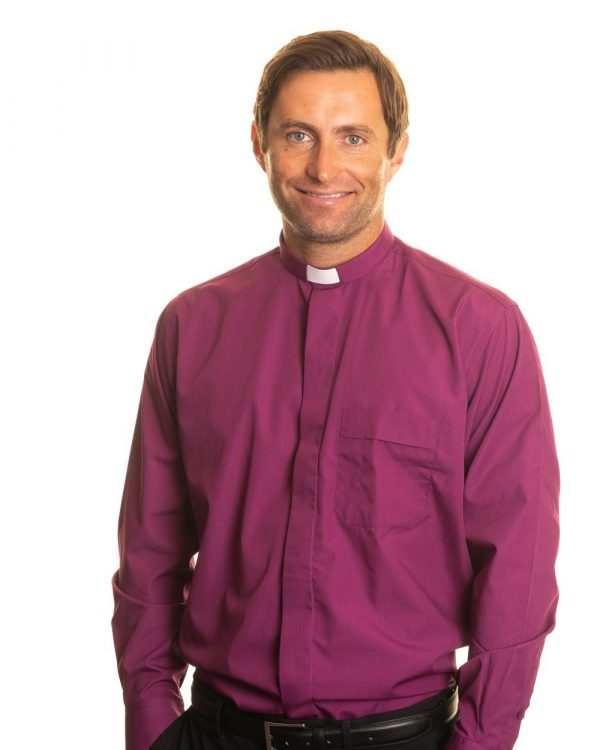 Reliant shirts purple long sleeve clerical shirts and accessories