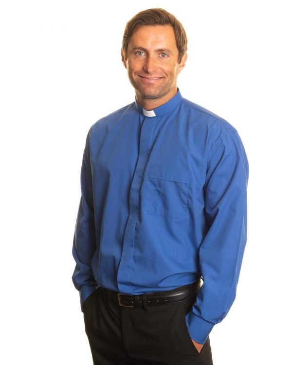 Reliant shirts blue long sleeve clerical shirts and accessories