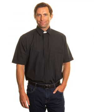 Reliant shirts black short sleeve clerical shirts and accessories