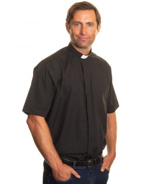 Reliant shirts Black short sleeve clergy shirts and accessories