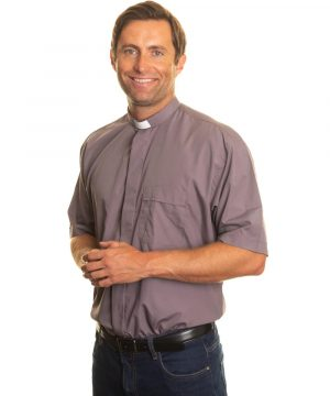 Reliant shirts clerical grey short sleeve shirts and accessories