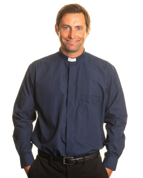Reliant shirts navy clergy shirt sales