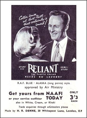 Reliant advert 1950s